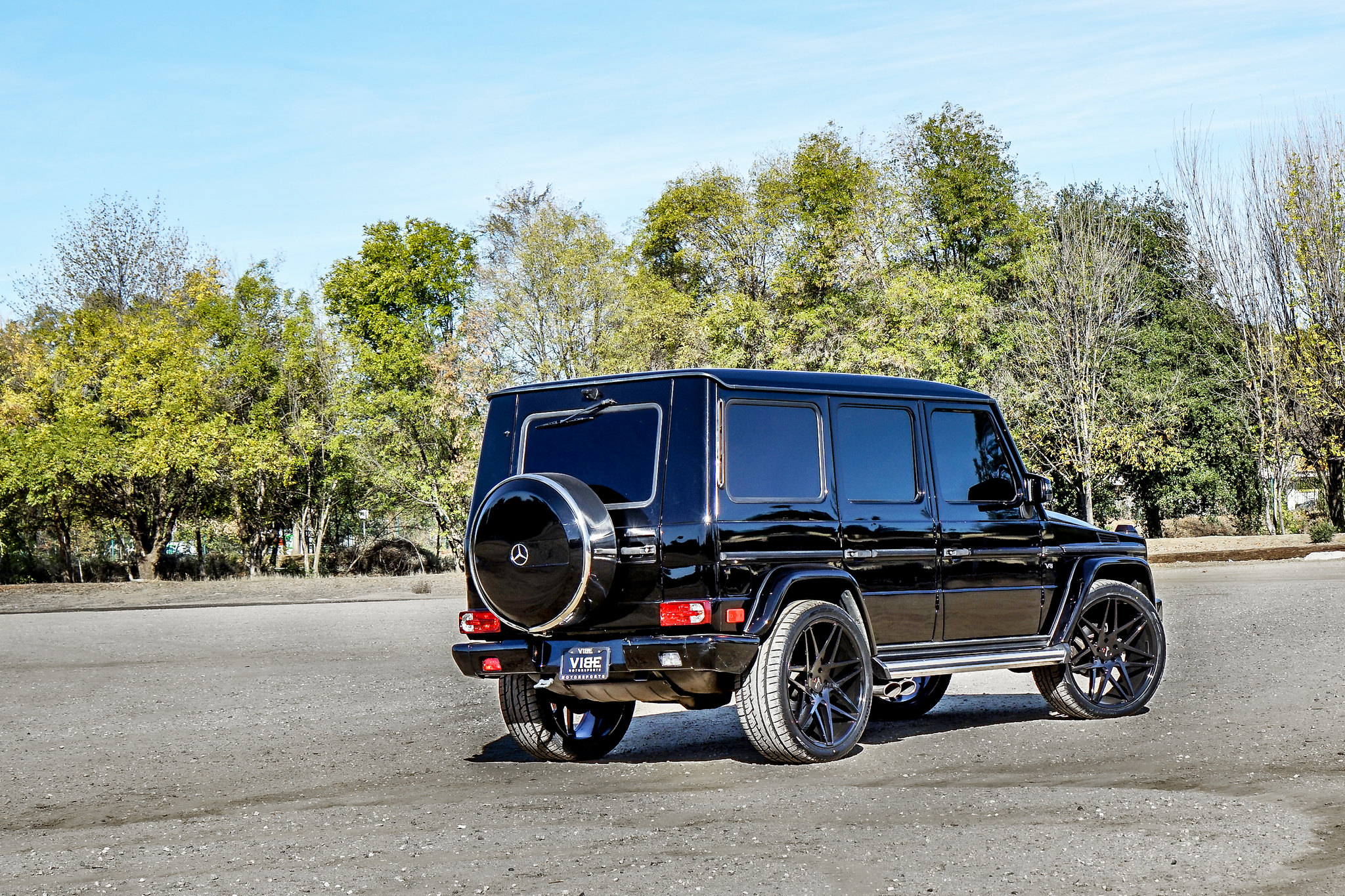 Gianelle Parma Black 24 on Mercedes G Class