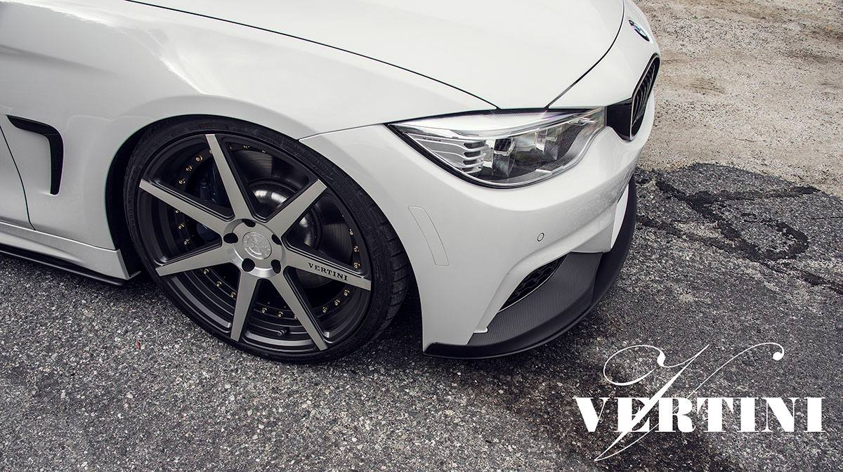 Vertini Dynasty Slate Grey Machined on BMW 435