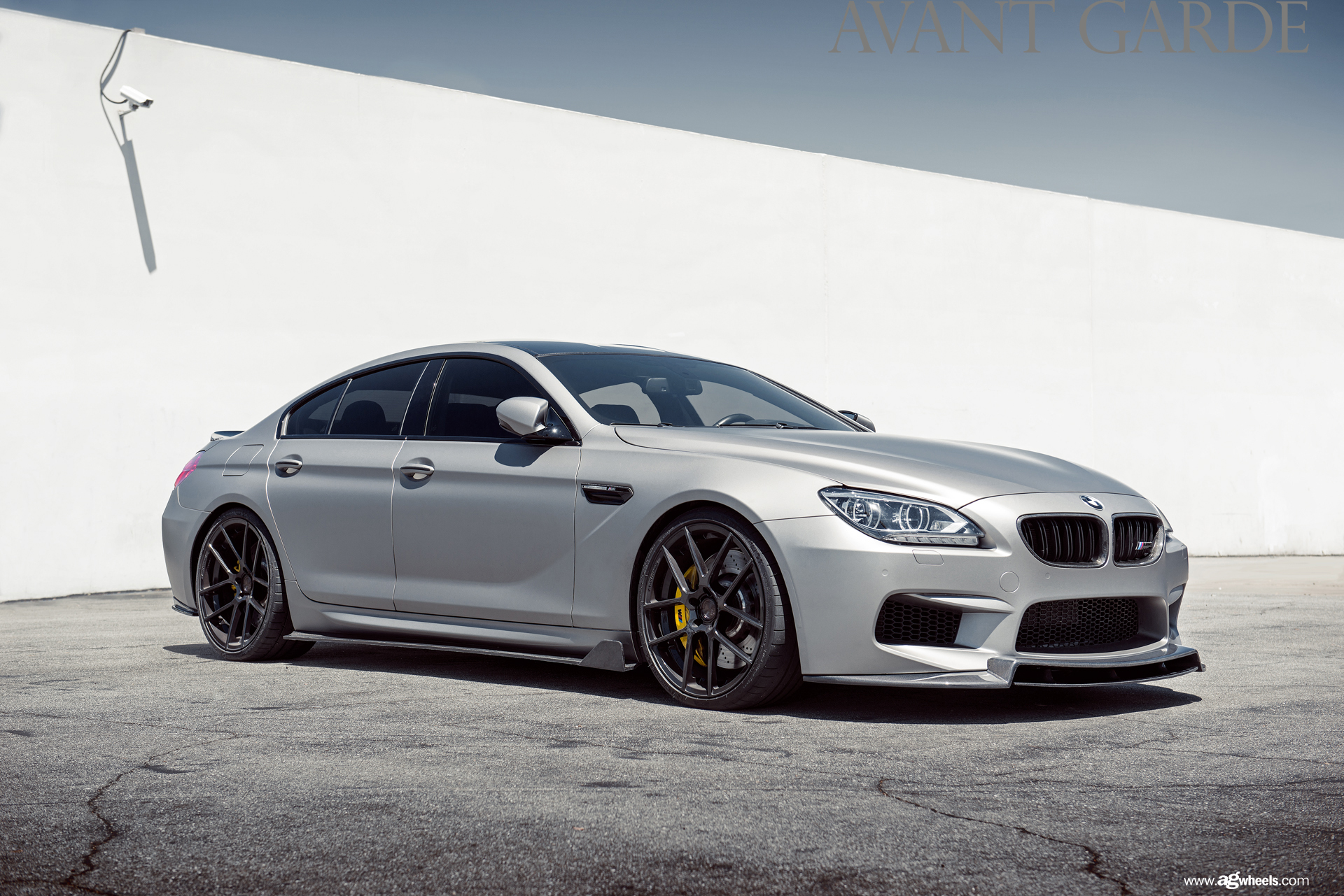 AG M510 Gloss Black on BMW Gran Coupe M6
