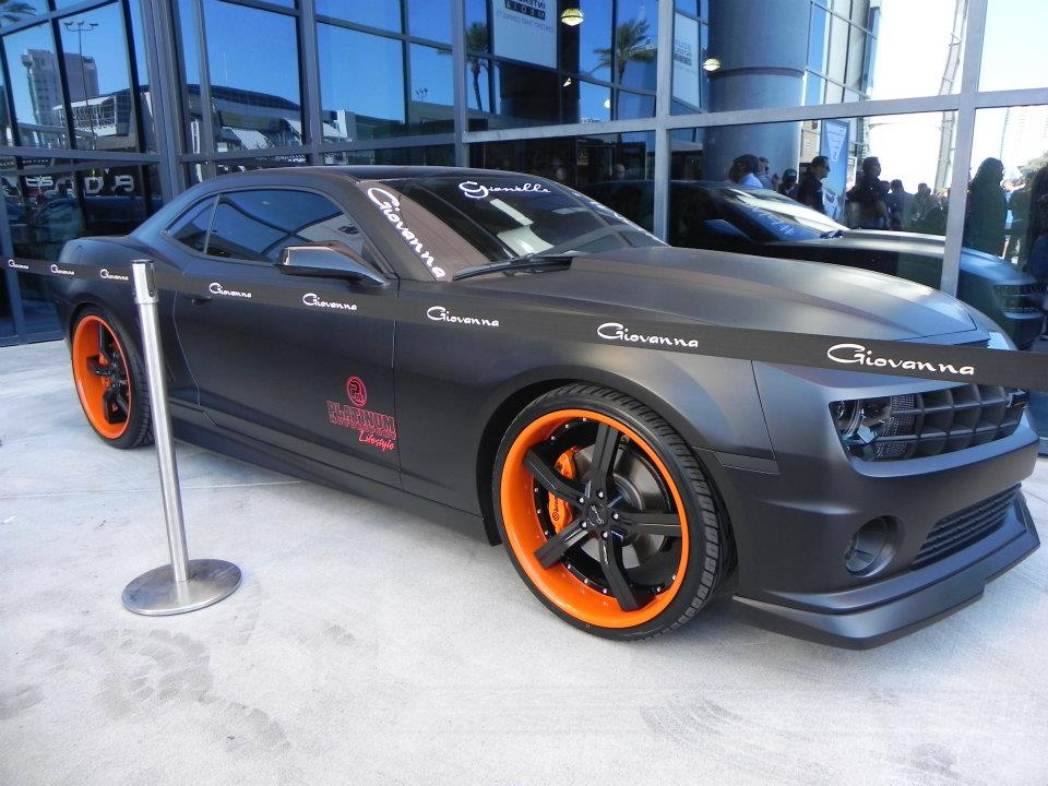 Gianelle Cancun Custom Finish on Chevrolet Camaro