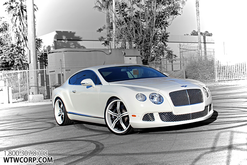 Gianelle Cancun Custom Painted On Bentley Continental