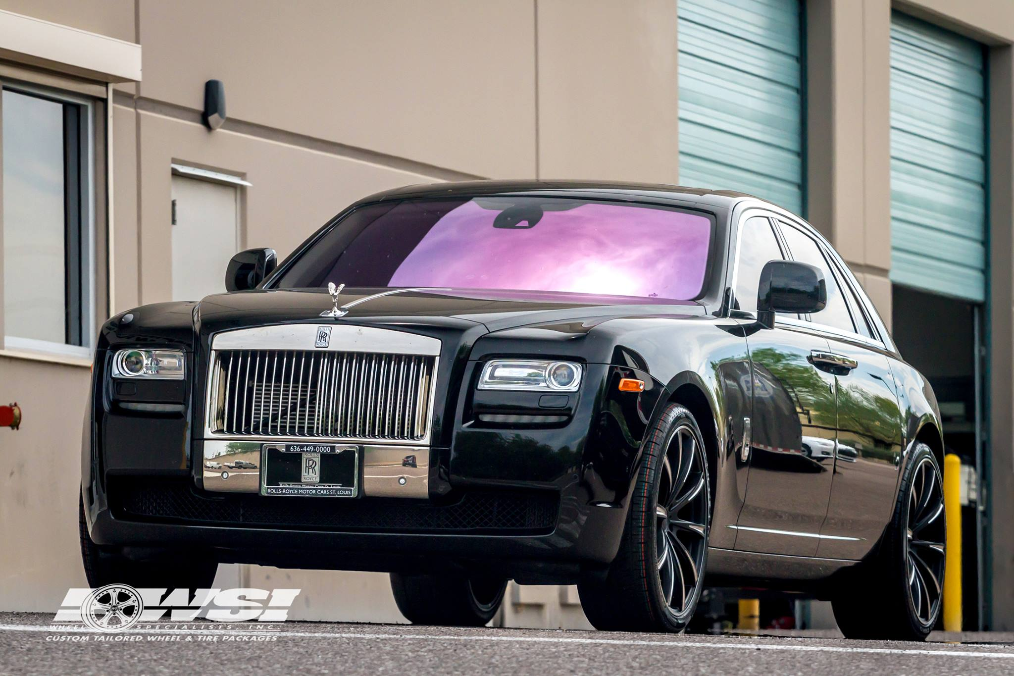 Gianelle Cuba-10 Black on Rolls-Royce Ghost