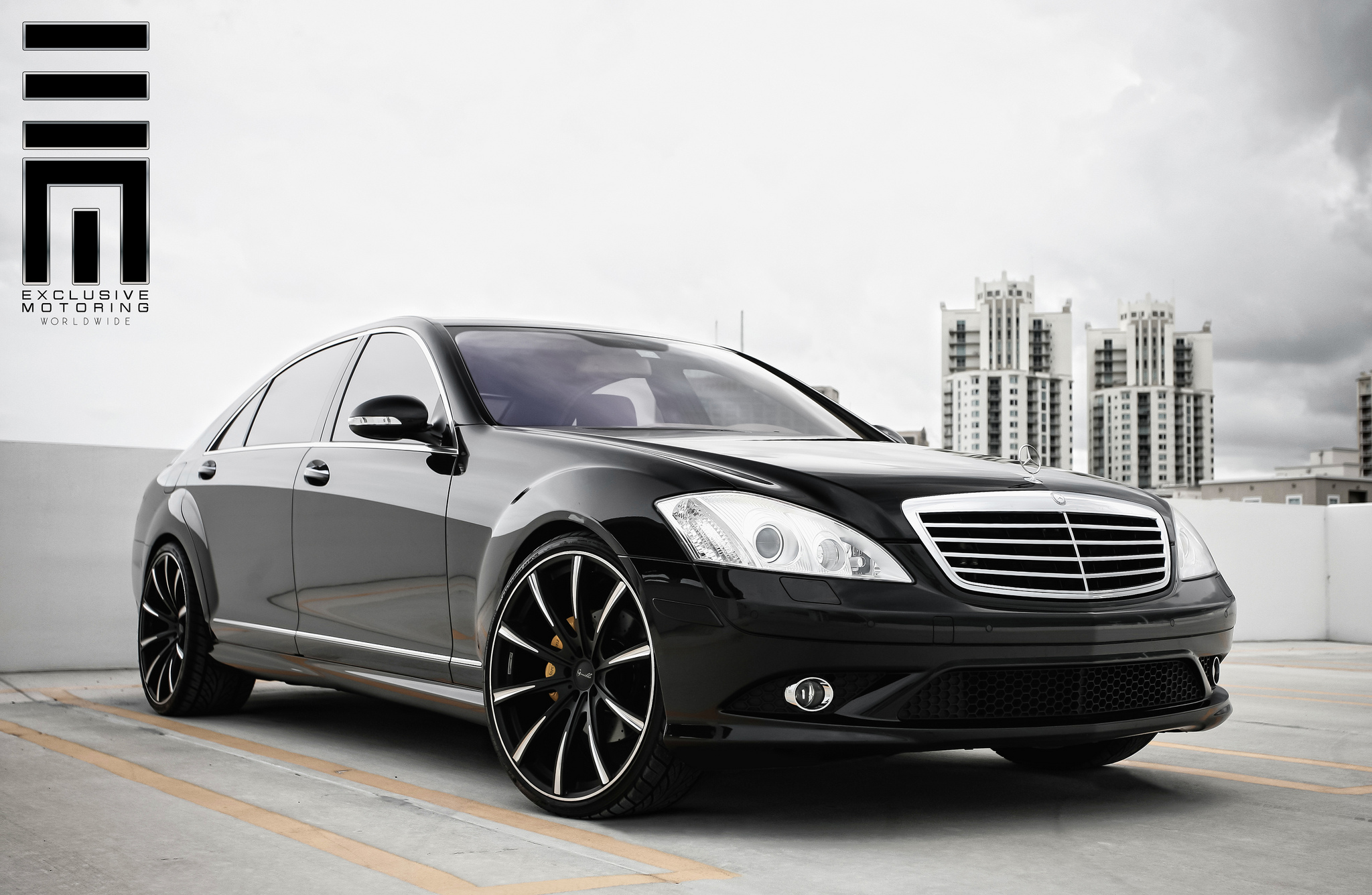 Gianelle Cuba-10 on Mercedes S Class W221