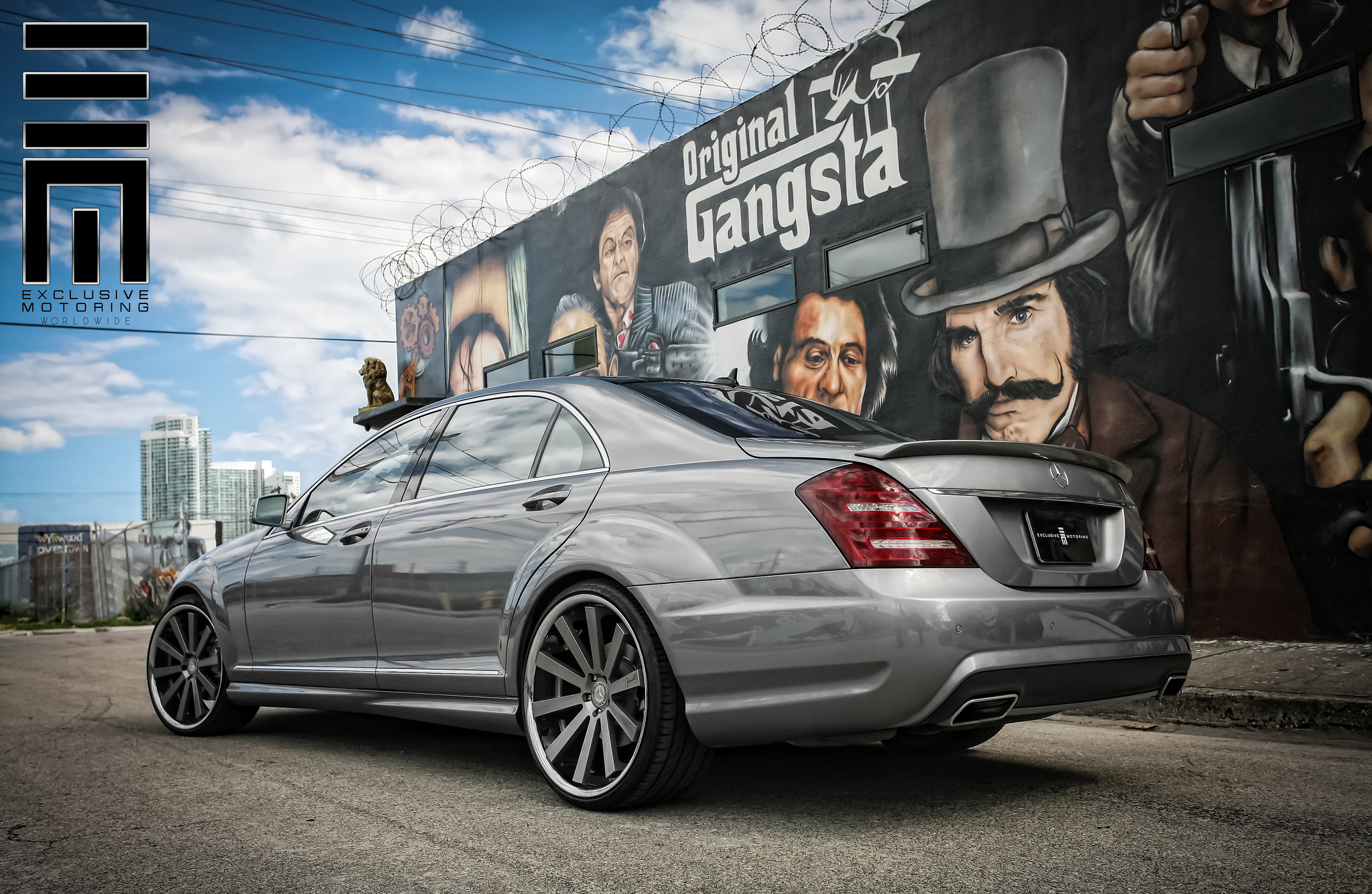 Gianelle Designs Santo-2SS Custom Painted r22 on Mercedes Benz S550