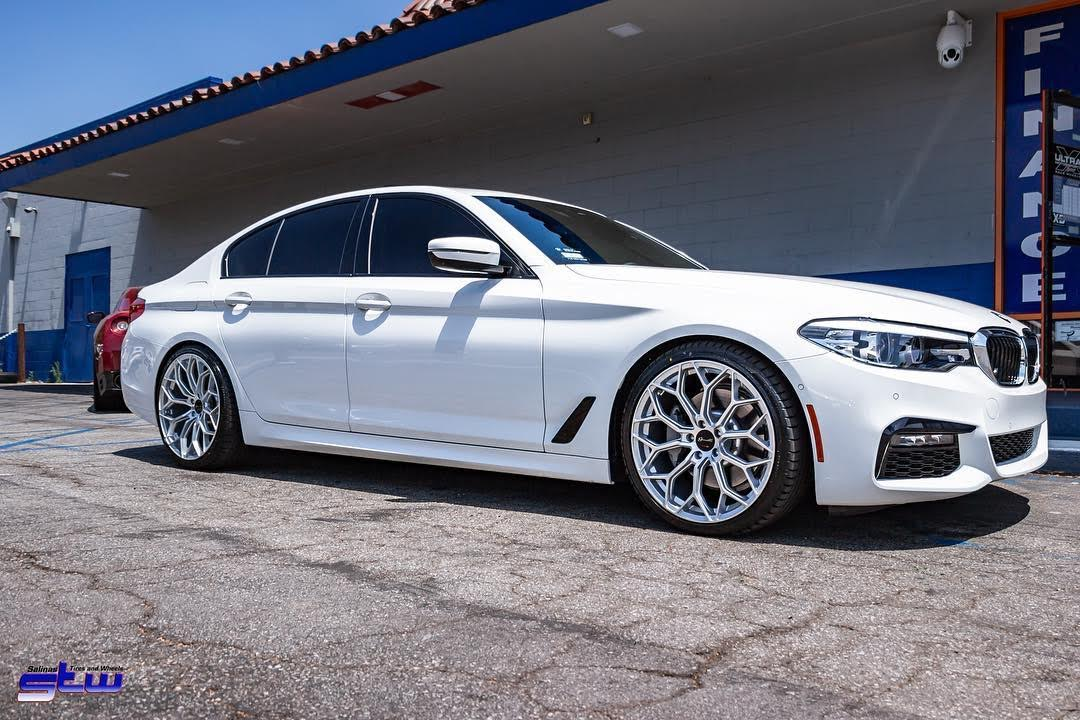 Gianelle Monte Carlo Silver on BMW 5 series