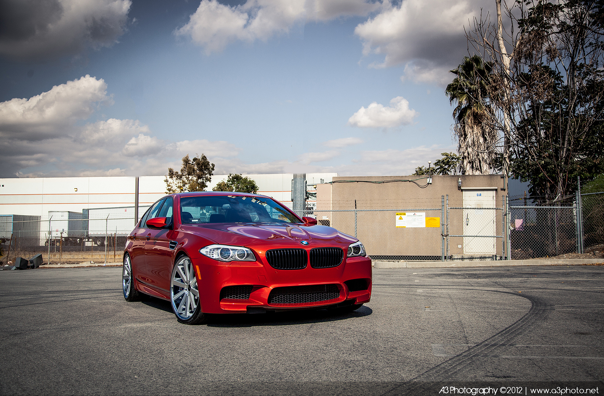 Gianelle Santo 2SS Silver on BMW M5 F10