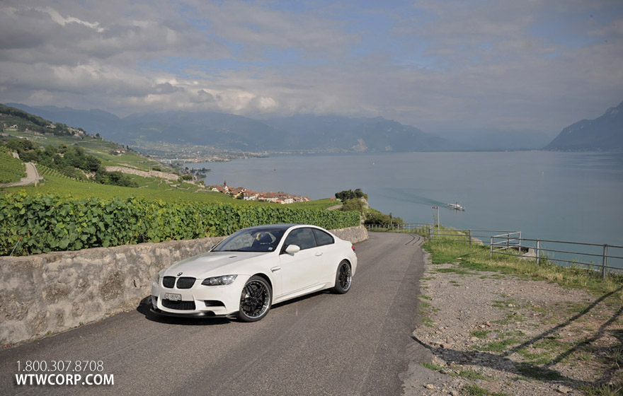 Giovanna Califive Black on White BMW 3 series
