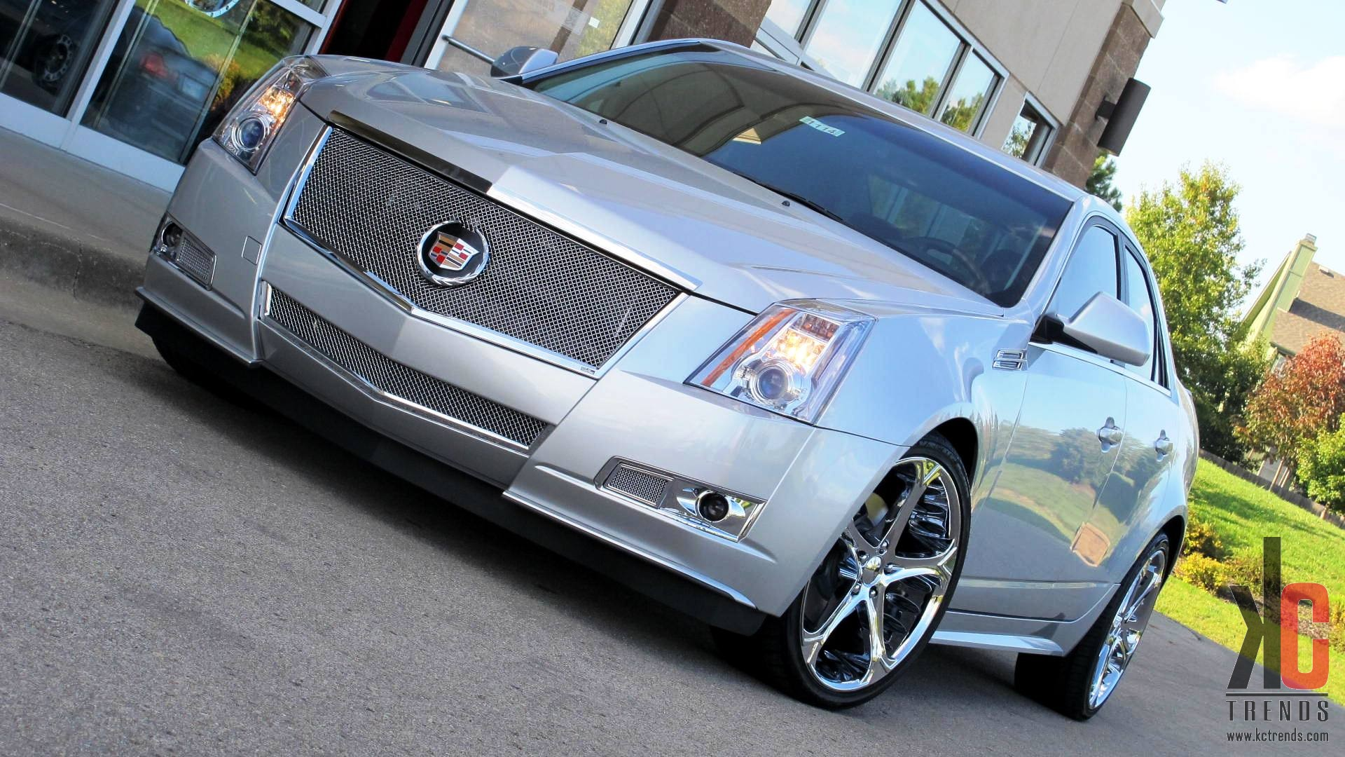 Giovanna Dalar 5V Chrome r20 on Cadillac CTS