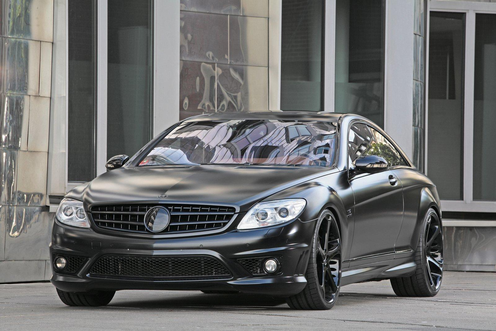 Giovanna Dalar Custom Paint On Mercedes Benz CL 65 AMG Black Edition
