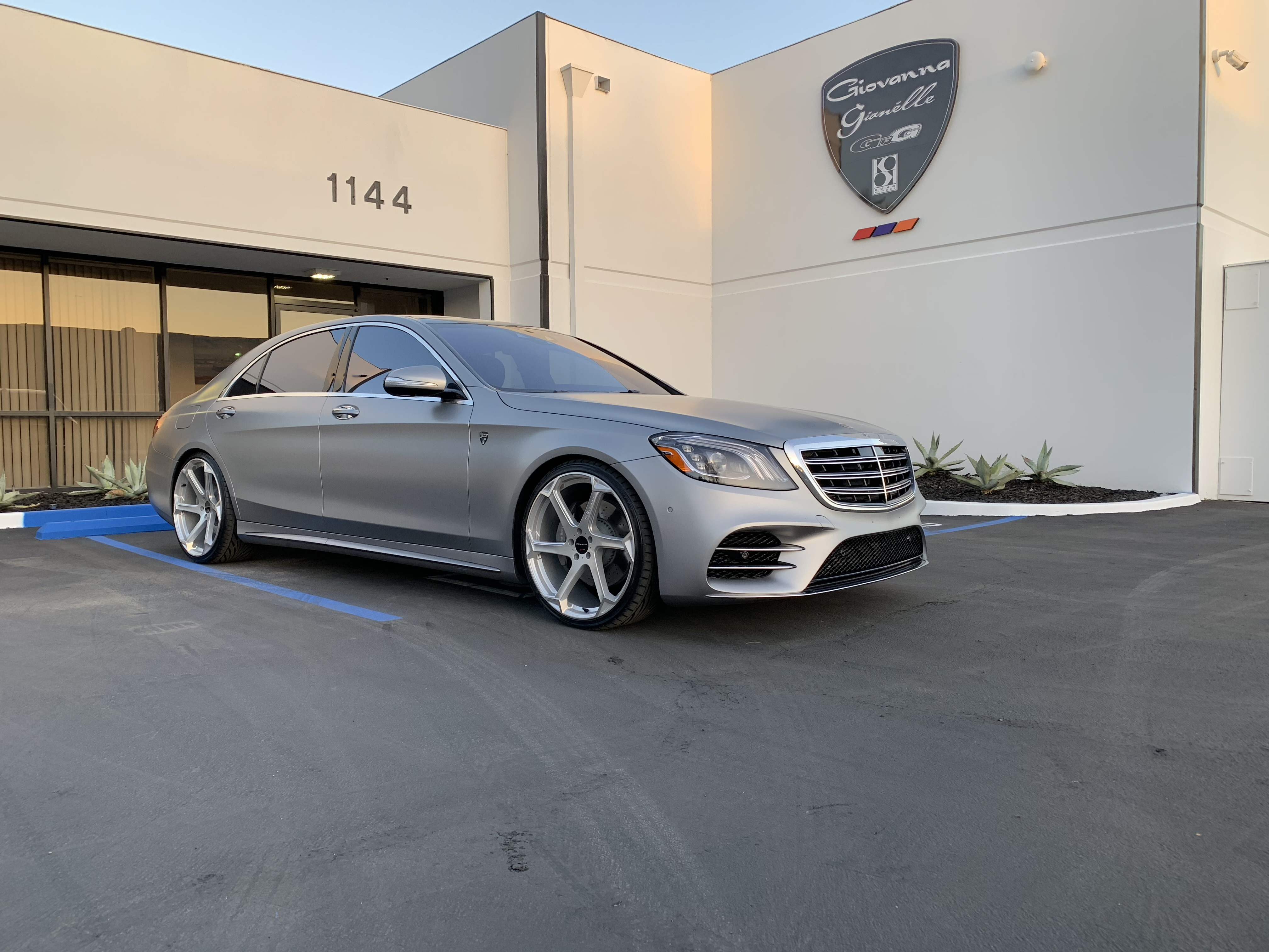 Giovanna Dalar X Silver on Mercedes Benz S Class