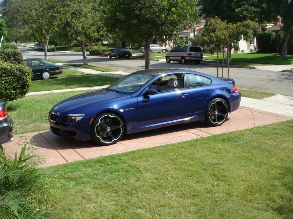 Giovanna Dalar-5 Matte Black on BMW M6