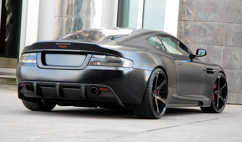 Giovanna Dalar-5 on Aston Martin DBS