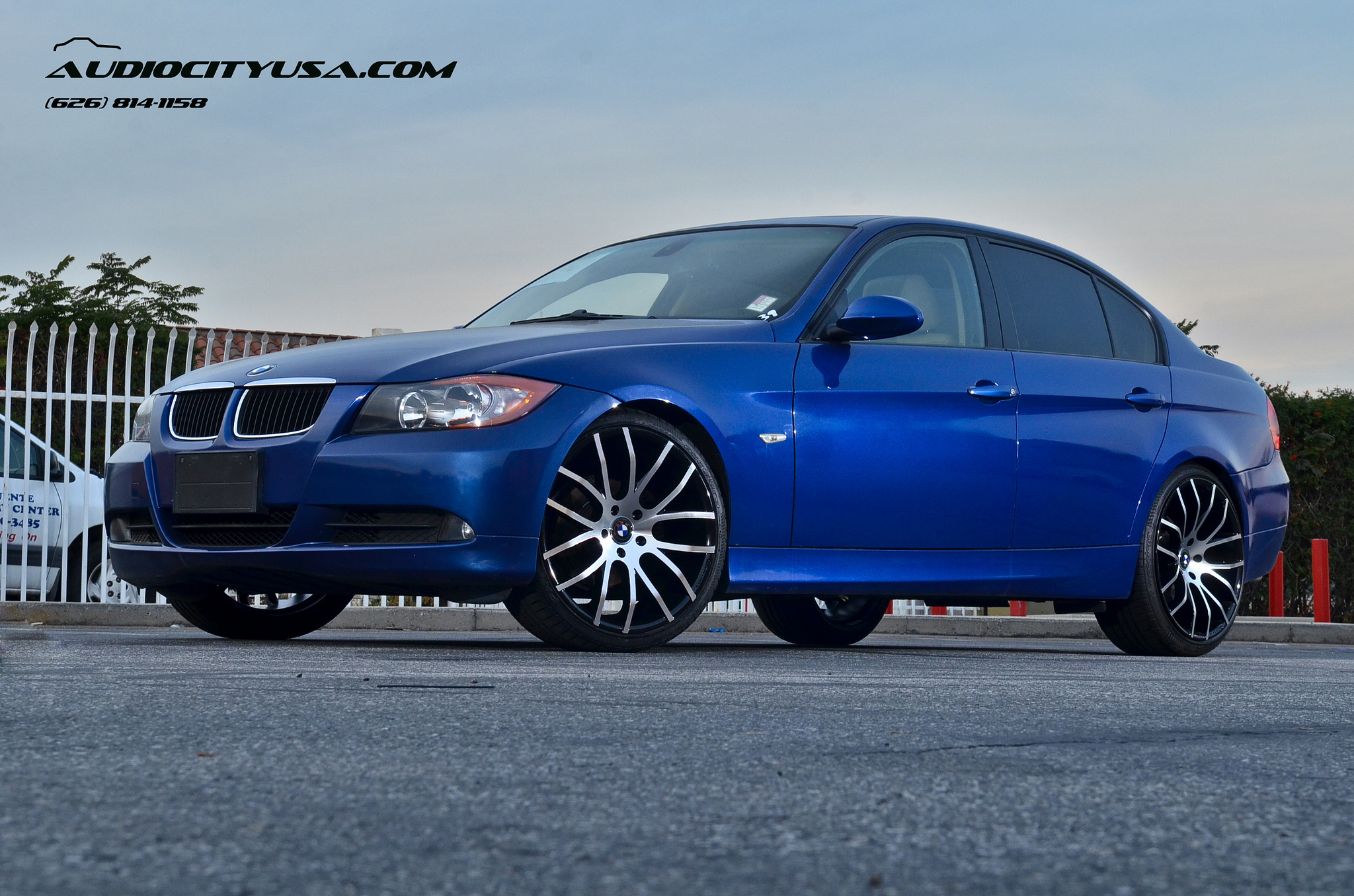 Giovanna Kilis Machine Black on BMW 328i