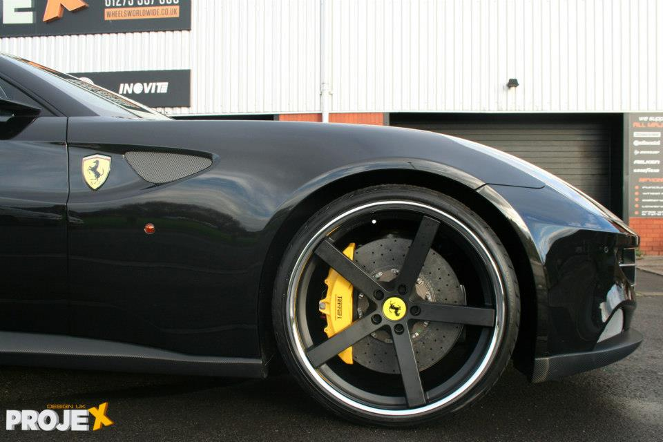Giovanna Mecca Black 22 on Ferrari FF
