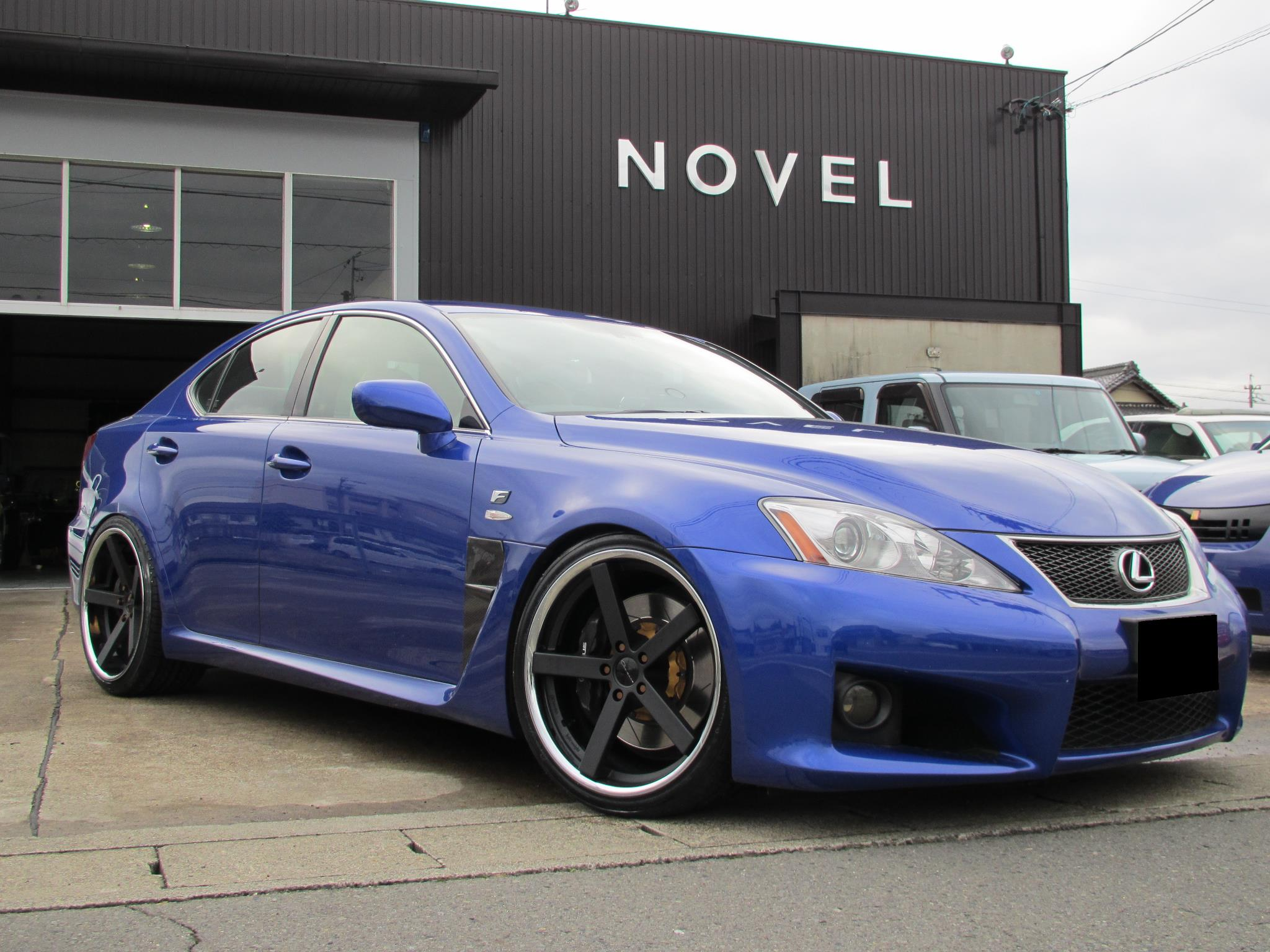 Giovanna Mecca Black on Lexus ISF