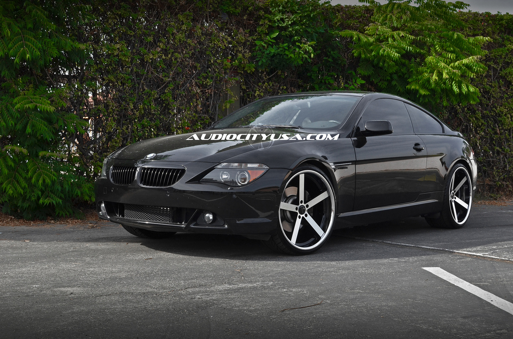 Giovanna Mecca Machined Black on BMW 6 series