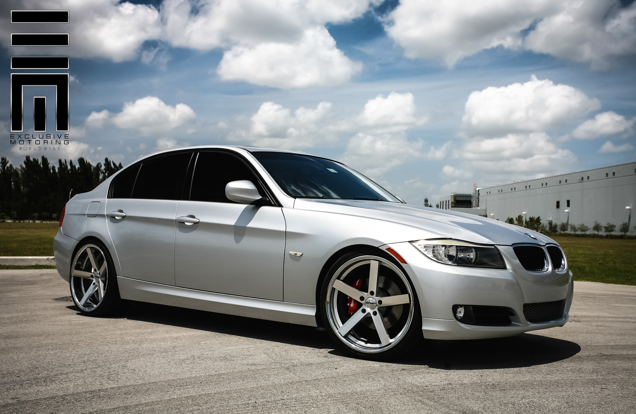 Giovanna Mecca Silver on Grey BMW 3 Series