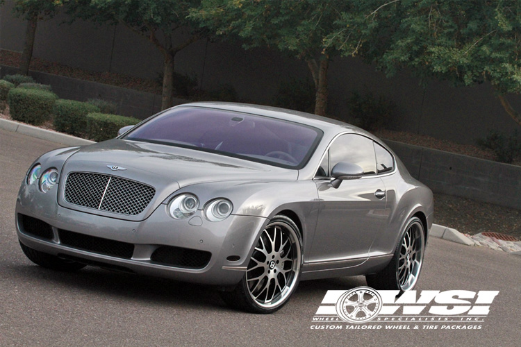 Koko Kuture Fann on Bentley Continental GT