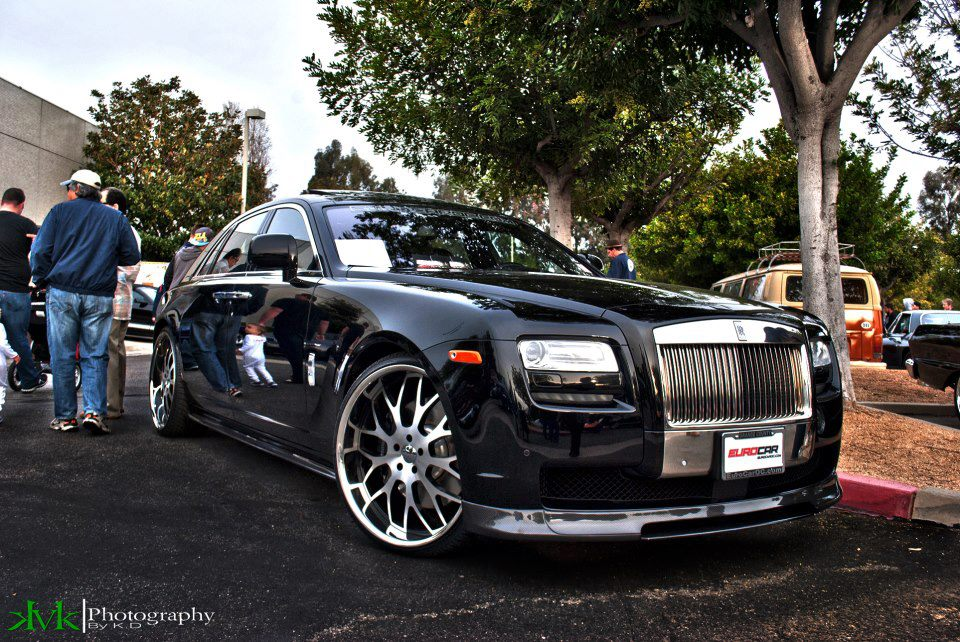 Koko Kuture Fann on Rolls-Royce Ghost