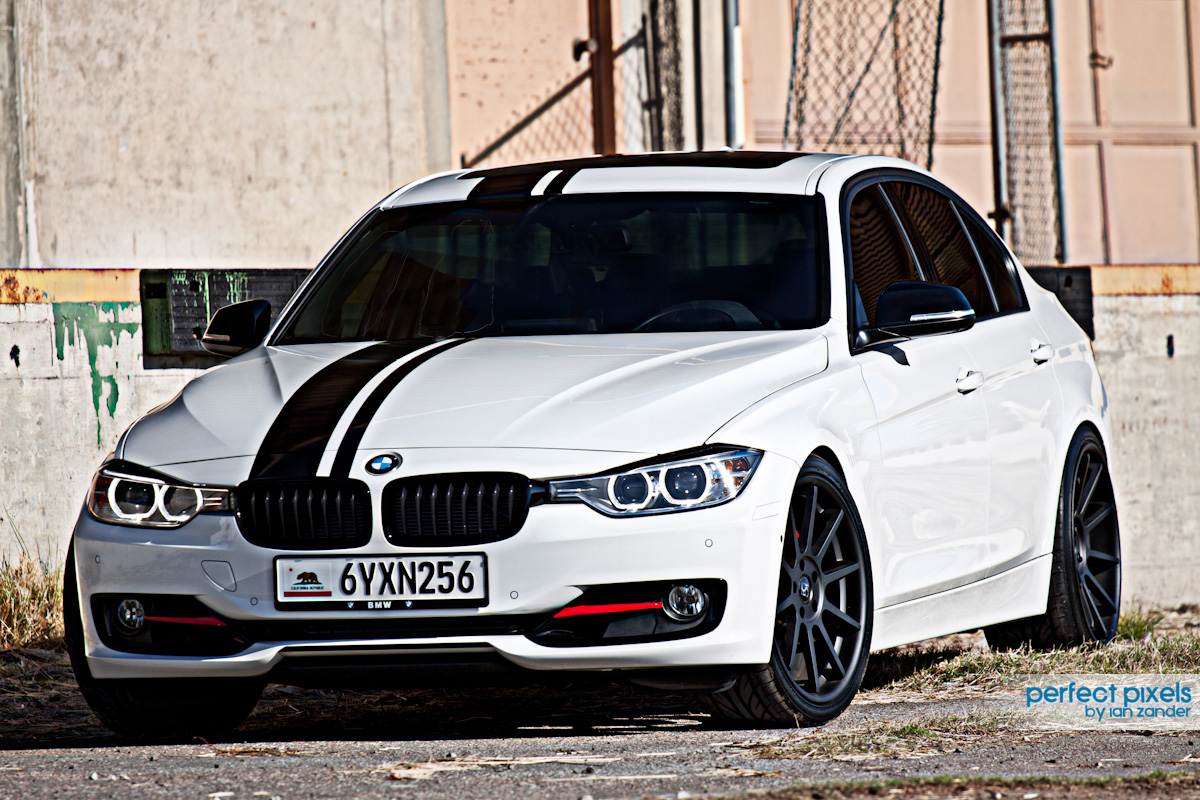 Koko Kuture Lindos Black On BMW 335 F30