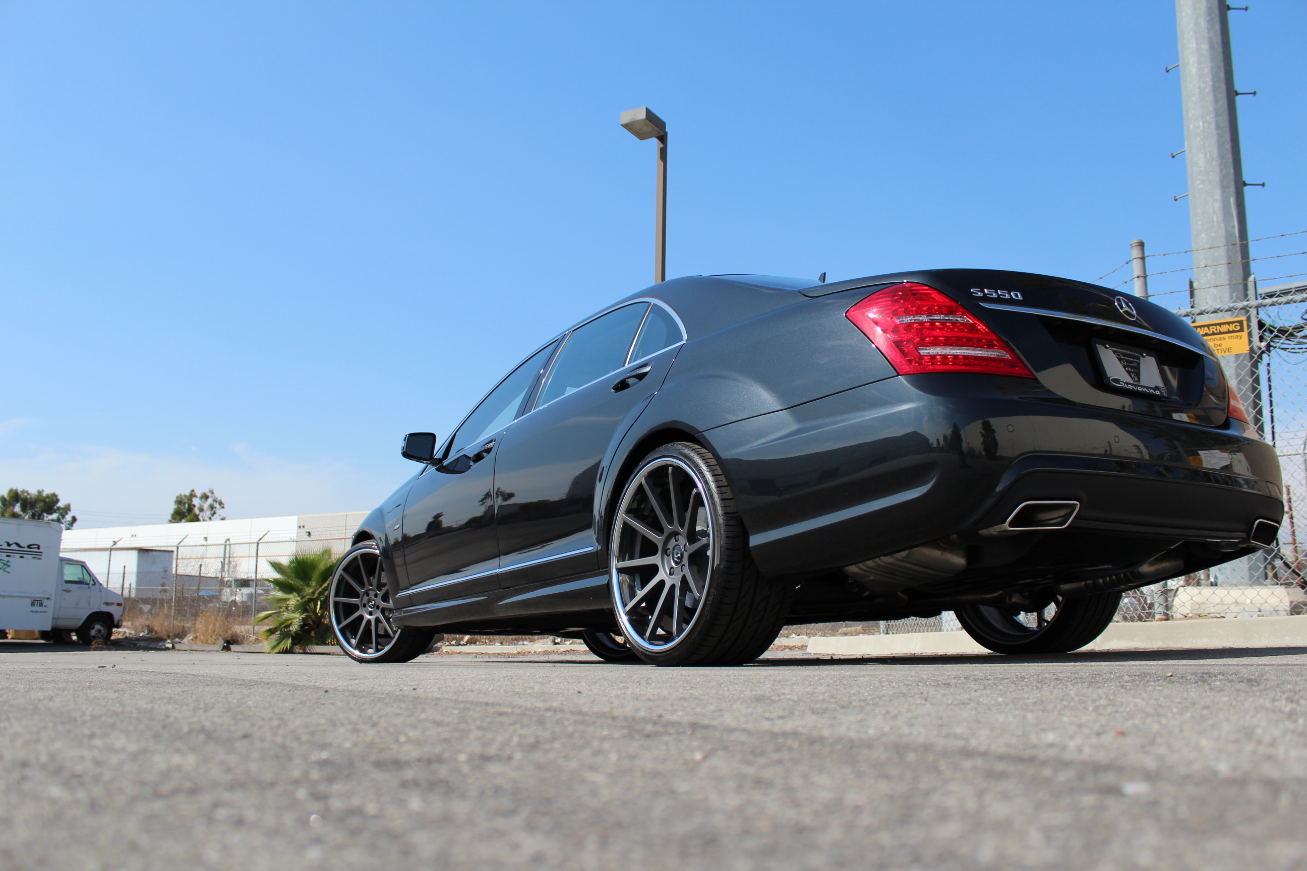 Koko Kuture Lindos Black on Mercedes Benz S Class