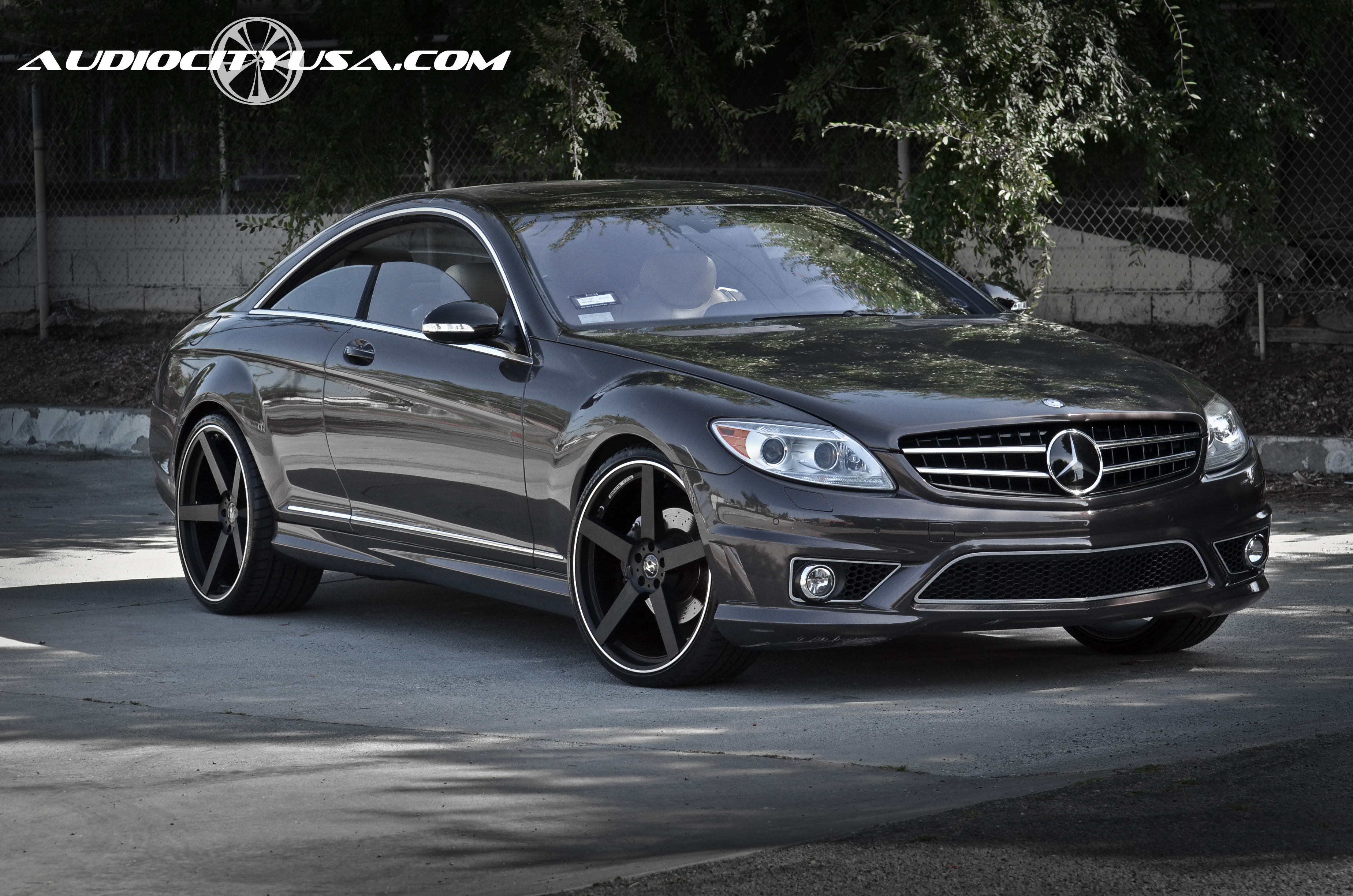 Koko Kuture Sardinia-5 Black 22X9_22X10,5 on Mercedes Benz Cl 63 AMG
