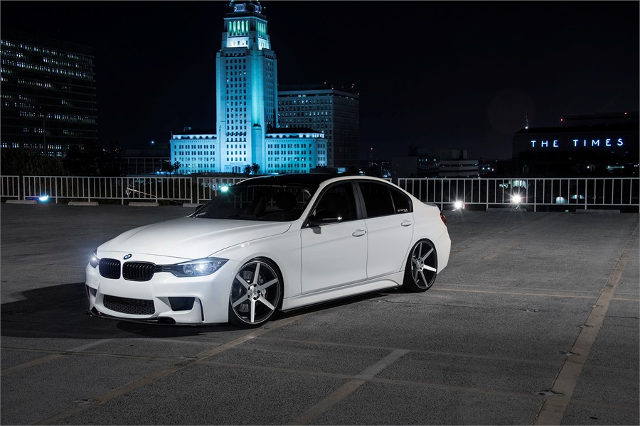 Stance Wheels SC-6 Slate Grey Machine on BMW F30