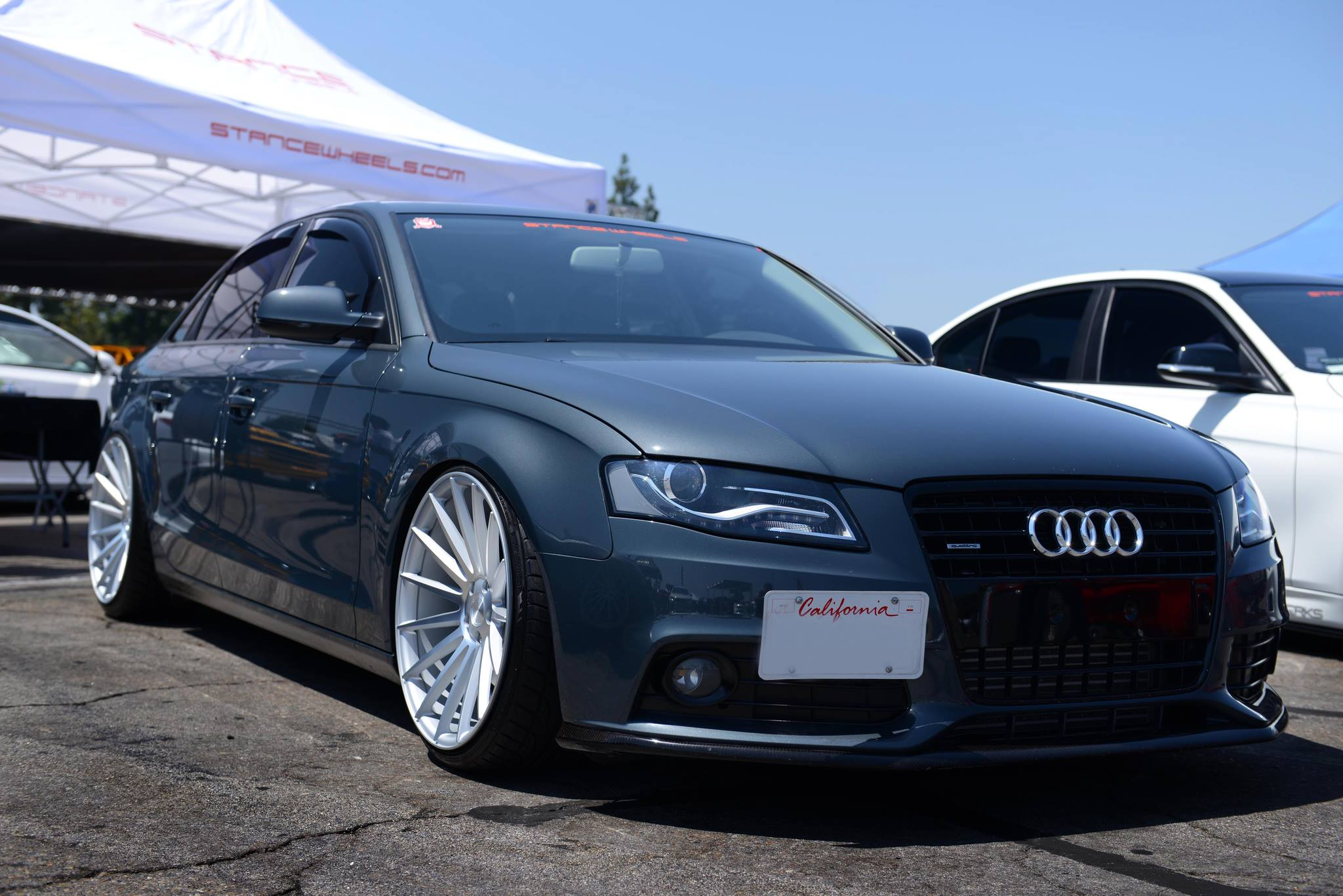 Stance Wheels SC-7 Silver on Audi A4