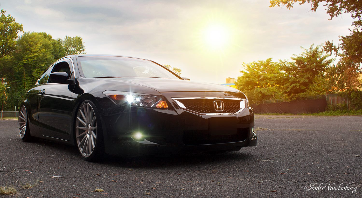 Stance Wheels SC-7 Silver on Honda Accord