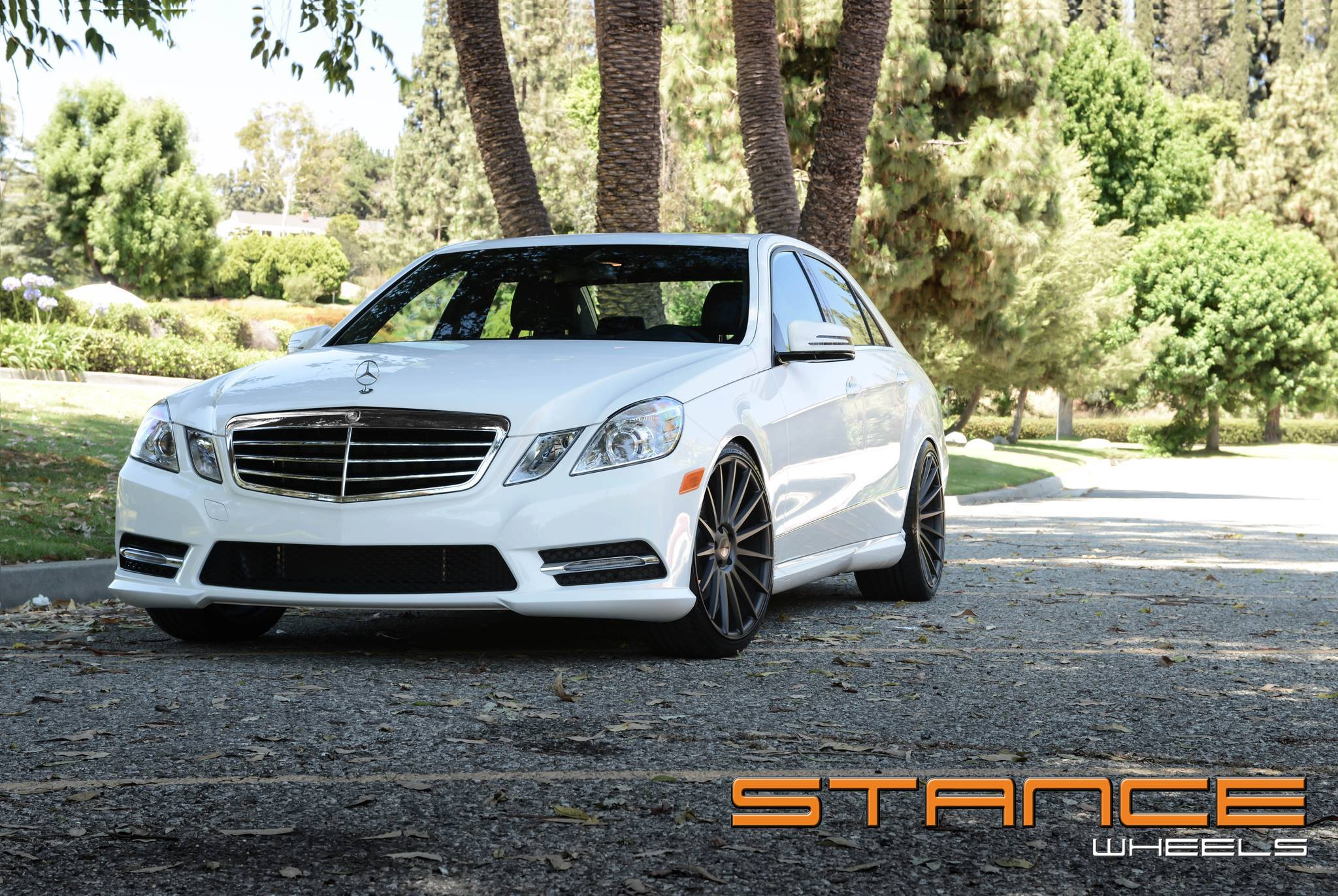 Stance Wheels SC-7 Slate Grey on Mercedes Benz E Class