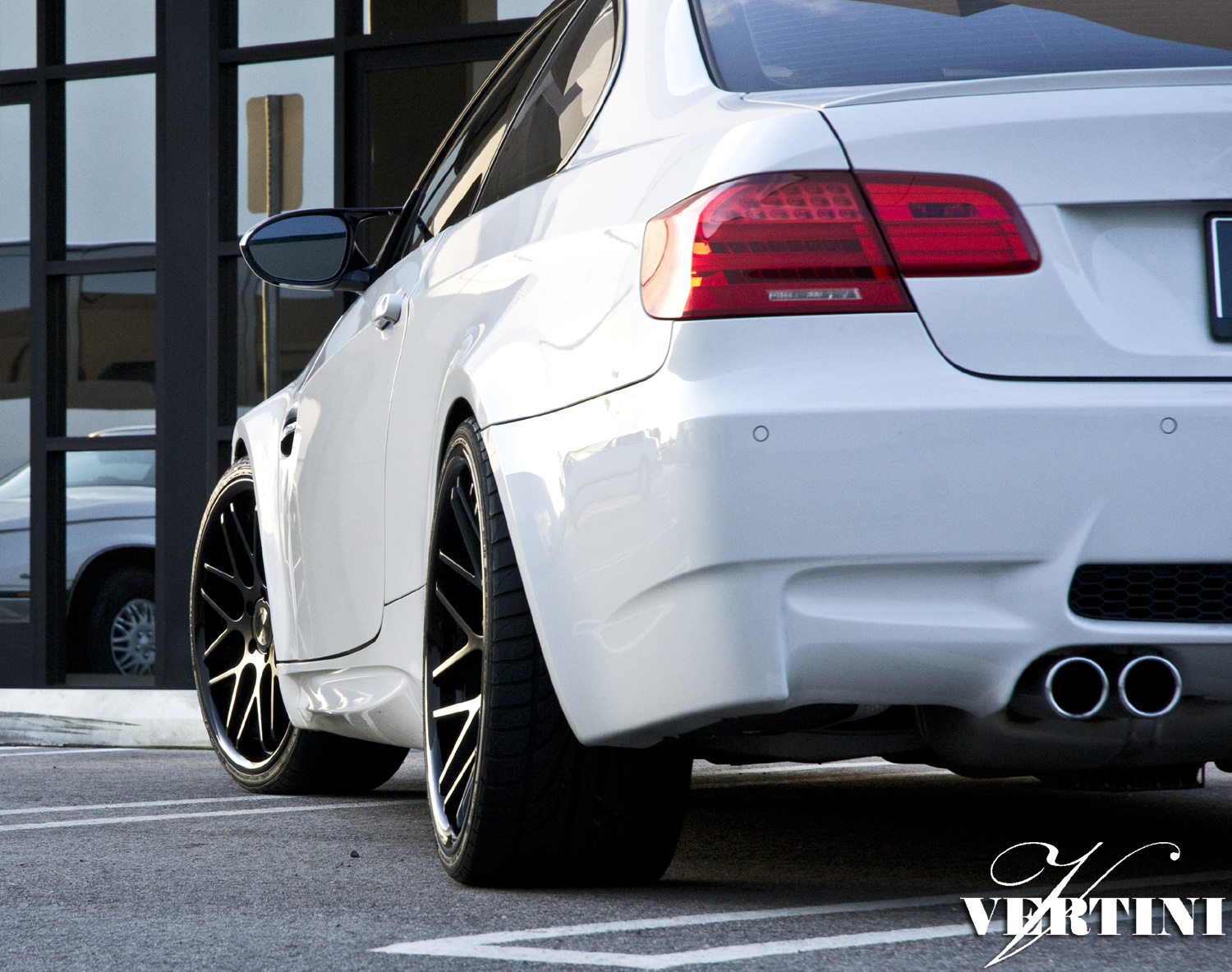 VERTINI CONCAVE MAGIC Black ON BMW M3