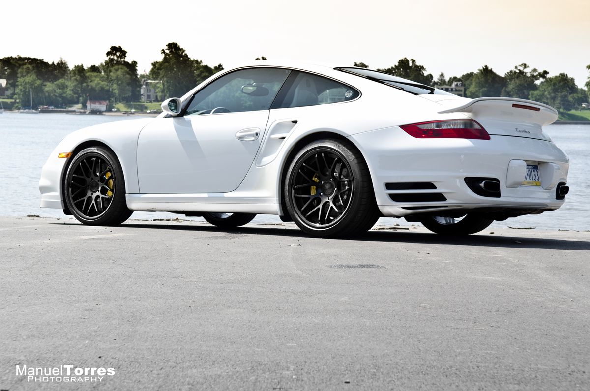 Vertini Concave Magic Black on Porsche 997