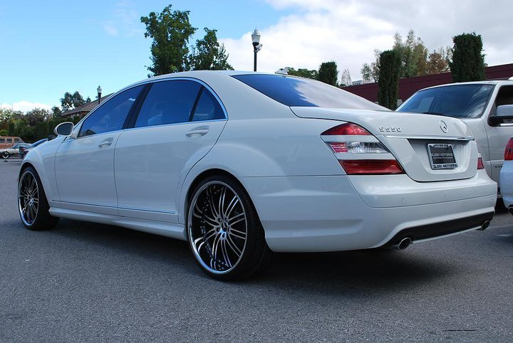 Vertini Hennssey on Mercedes Benz S550