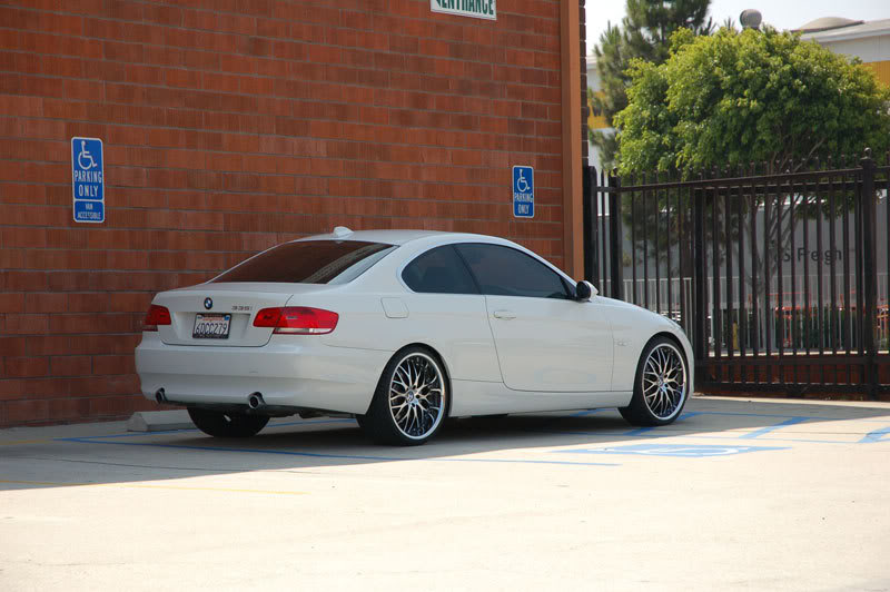 Vertini Wheels Riviera-S on BMW 335 Coupe